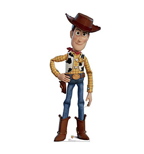 Advanced Graphics Woody Life Size Cardboard Cutout Standup - Disney Pixar Toy Story 4 (2019 Film)]()