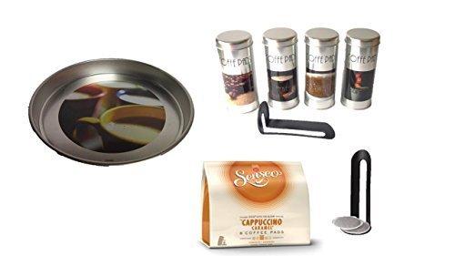 Caramelo Cappuccino Cafetera Senseo, 1 Paquete Almacenamiento de ...
