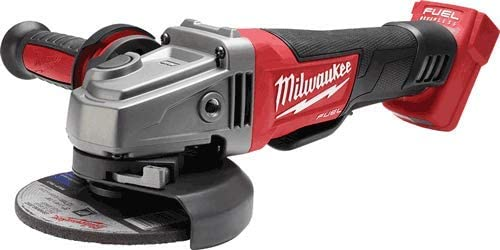 """M18 FUEL 4-1/2\"""" / 5\"""" Grinder, Paddle Switch No-Lock - No Charger, No Battery, Bare Tool Only 41E37JsJJxL"""