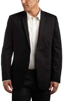 Calvin Klein Men's Short Sleeve Dobby Weave Button Down Shirt