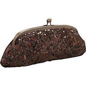 Carlo Fellini - Monaco Evening Clutch Bag For Women (Brown) Monaco Clutch