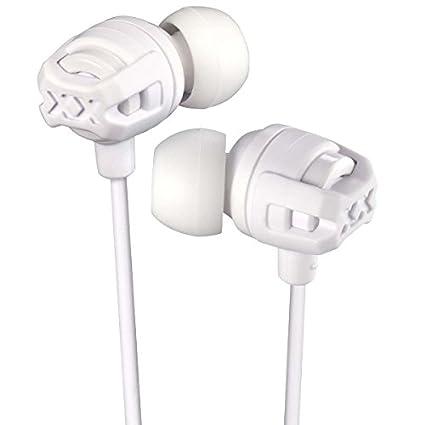 JVC HA-FX103M-WE XX In-Ear-Kopfhörer mit Mikrofon und Fernbedienung Weiß