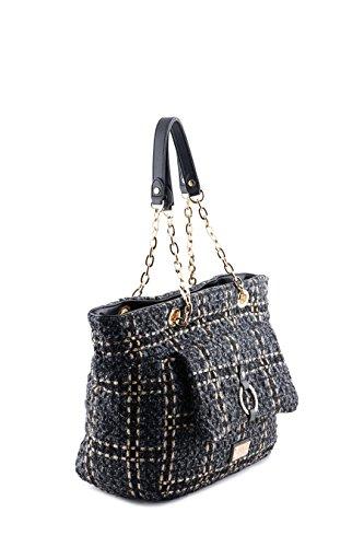 Shopping bag DONNA LIU JO A67202-T6708 AUTUNNO/INVERNO black_anthracite, schwarz