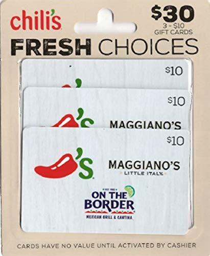 Brinker  Gift Cards, Multipack of 3 - $10