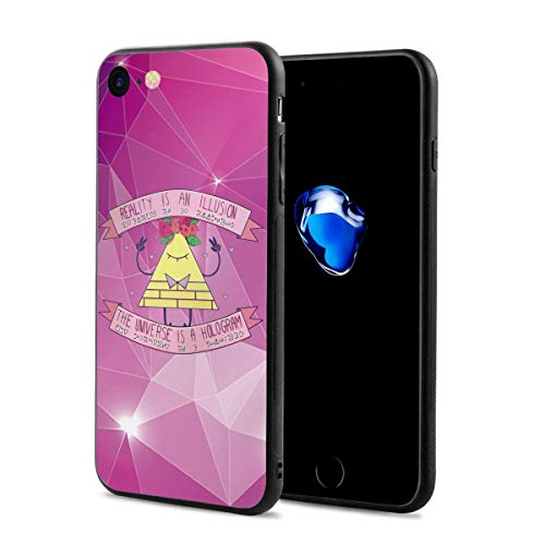 Gravity Falls - Cute Bill Cipher Anti-Scratch Shock Rubber Silicone Rugged Thin Cover Phone Case for iPhone 7/iPhone 8