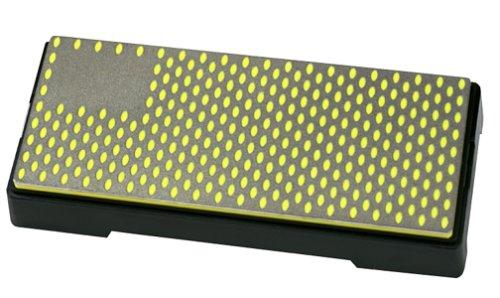 yellow stone knife sharpening - 5