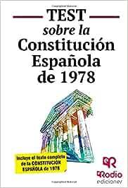 Test sobre la Constitución Española (OPOSICIONES): Amazon.es: Robledo, Tomás Jesús: Libros