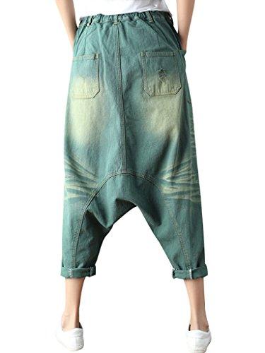 jeanHarem lastique Femmes Style Pantalons Taille en Jeans Bigassets 5 1wBFTnTq