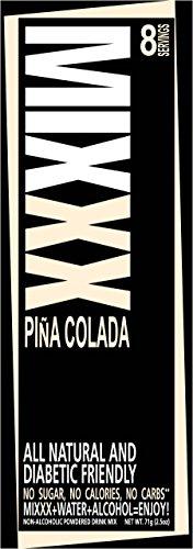 Mixxx All Natural Powdered Drink Mix - Mixxx Pina Colada (Pina Colada Alcohol)