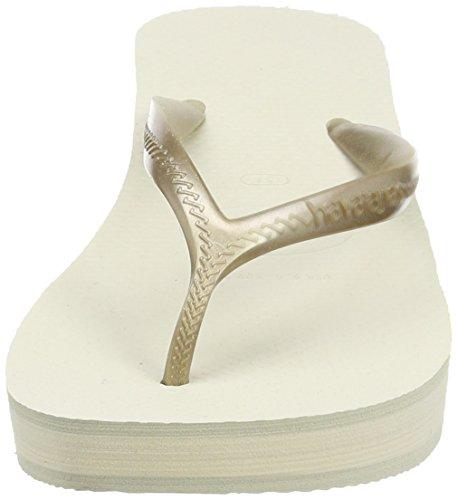 Havaianas High Fashion, Chanclas para Mujer Beige (beige 0121)