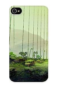 New Iphone 4/4s Case Cover Casing(ruins Art Bush Bridge Fantasy Post Apocalypse Apocalyptic )
