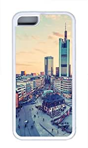 Frankfurt Germany cities TPU Silicone Case Cover for iPhone 5C White