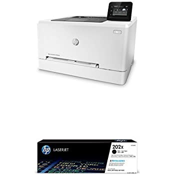 HP LaserJet Pro M254dw Wireless Color Laser Printer (T6B60A) with High Yield Black Toner Cartridge