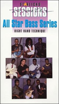 (All Star Bass (Guitar) Series - Right Hand Technique (Starlicks Master Sessions))