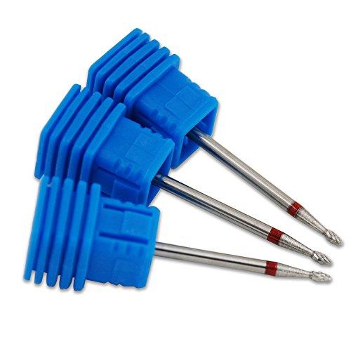 KADS Mini Bullet Alloy Nail Drill Bit For Electric Nail Drill Manicure Machine Pedicure Drilling Machine Nail Accessories Tools