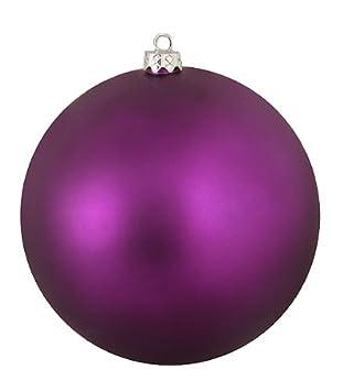 Christbaumkugeln Aubergine.Amazon De Matt Aubergine Purple Kommerziellen Christbaumkugel