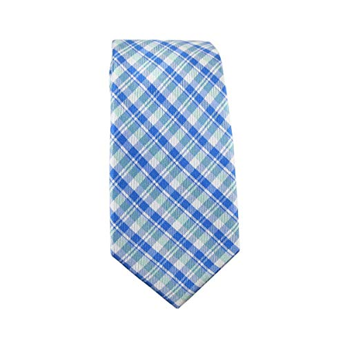 Nautica Men's 100% Silk Necktie, Stockton Plaid -