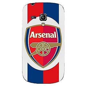 Unique Design FC Arsenal Football Club Phone Case Cover For Samsung Galaxy S3mini 3D Plastic Phone Case
