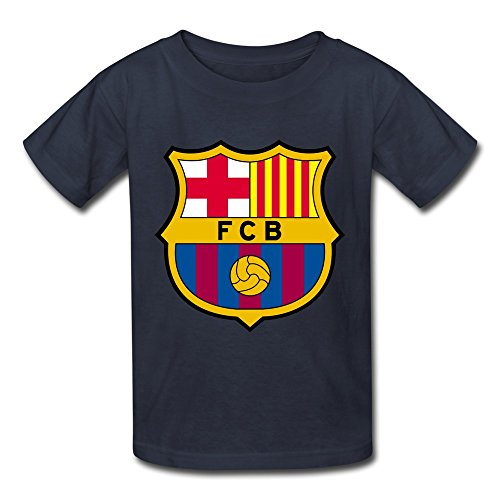 fc-barcelona-cool-kids-boys-and-girls-t-shirts-navy-size-l