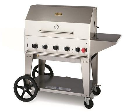 Crown Verity CV-MCB-36PKG-NG 5-PC Grill Package with CV-M...