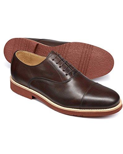 Brown Oxford Shoe by Charles Tyrwhitt Brown uoHHXRvx
