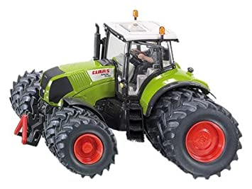 SIKU B0014BR1JW - Tractor de juguete Claas Axion con ruedas dobles: Amazon.es: Juguetes y juegos