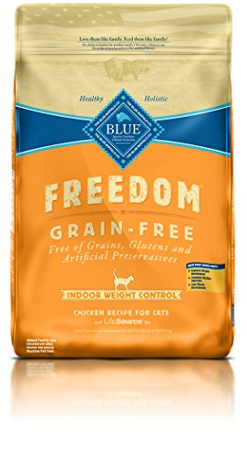 BLUE Freedom Adult Indoor Weight Control Grain Free Chicken