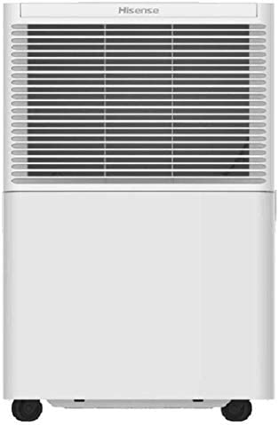 Hisense 30 Pint Dehumidifier DH-3019K1WG Low Temp Operations 700-sq ft Energy Star Rated Great for Basements and has Quiet Operation Renewed