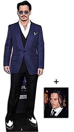 starfoto Enth/ält 8X10 25X20Cm Johnny Depp Lebensgrosse Pappfiguren // Stehplatzinhaber // Aufsteller
