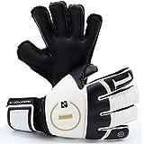 Luva Goleiro Profissional N1 Goalkeeper Beta Elite Gold Dark - Talas De Proteção