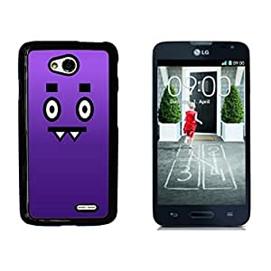 Happy funny Expression Hard Plastic and Aluminum Back Case for LG Optimus L70