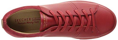 Skeche Street Frauen Moda-Clean Street Fashion Sneaker rot