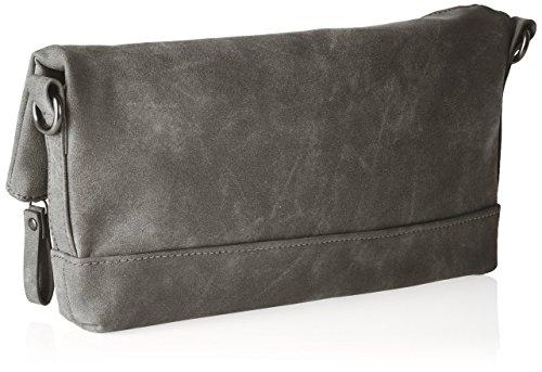 Tamaris Smirne Clutch Bag - Cartera de mano Mujer Gris - gris (graphite 206)