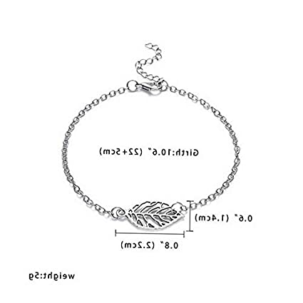 9dddb214a239f2 Image Unavailable. Image not available for. Color: Florance jones Men Women  Charm Infinity Love Heart Adjustable Silver Chain Bracelet Bangle Hot ...