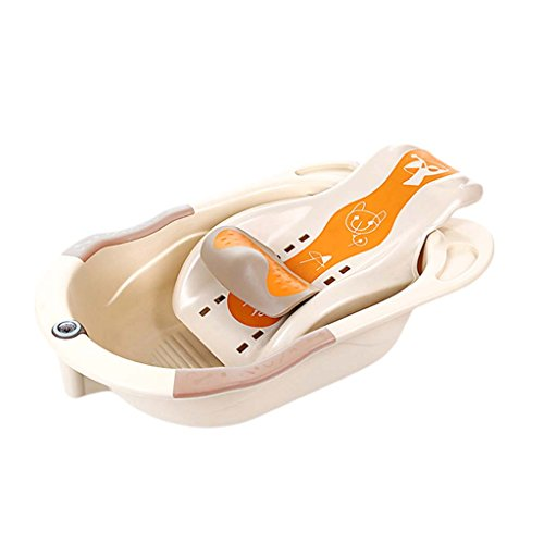 Baby Tub - Baby Bath Tub Can Sit Lie Children Bucket Baby Newborn Toiletries Give More Space As The Child Grows To Care For Your Kid's Health - 922 Tub
