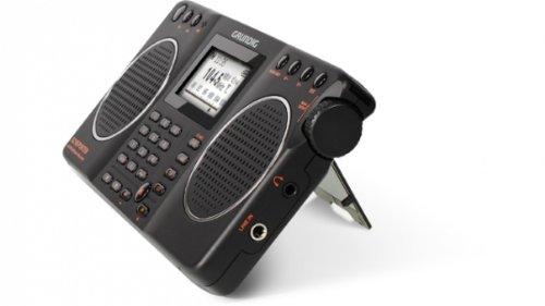 Eton Grundig G2 AM / FM / Shortwave Radio, Recorder - Black, NG2B ()