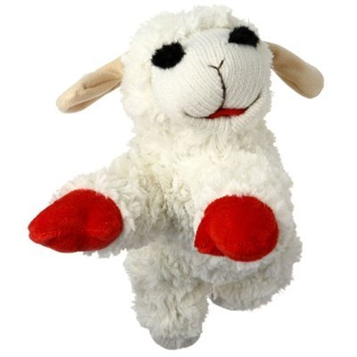Multipet Giant Lambchop Dog Toy- (Lovable Lamb)