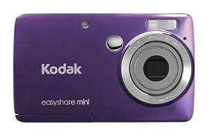 Kodak EasyShare Mini M200 10 MP Digital Camera with 3x Optical Zoom and 2.5-Inch LCD - Purple