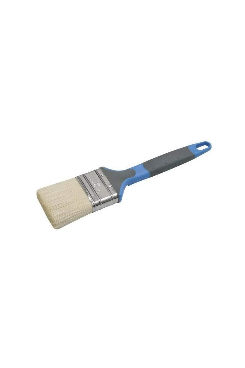 Cepillo plano Nespoli 10301 20 material suave, acr/ílico, 20 mm color negro