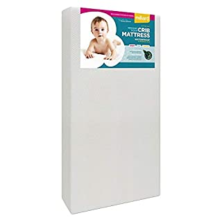 Milliard Premium Memory Foam Hypoallergenic Infant Crib Mattress and Toddler Bed Mattress with Waterproof Bamboo Cover, Flip Dual Stage System - 27.5 inches x 52 inches x 5.5 inches