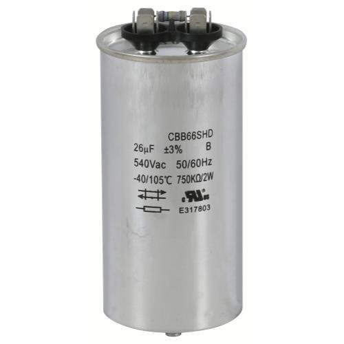 Replacement Capacitors HPS 1000 - 26 MFD 525 Volt (Single/Wet)