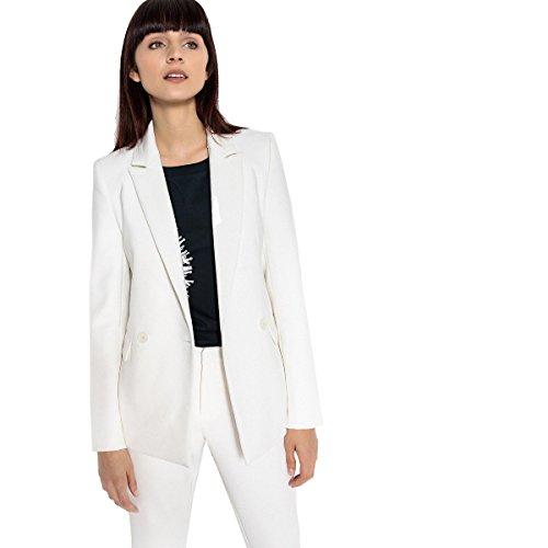 La Blazer Donna Giacca Abbottonatura Collections Redoute Bianco Doppia qw1Iq4