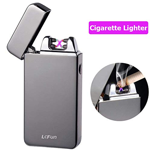 Atomic Electronic USB Lighter Dual Arc Plasma Rechargeable W