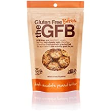 The GFB Gluten Free, Non-GMO High Protein Bites,Dark Chocolate Peanut Butter, 4 Ounce