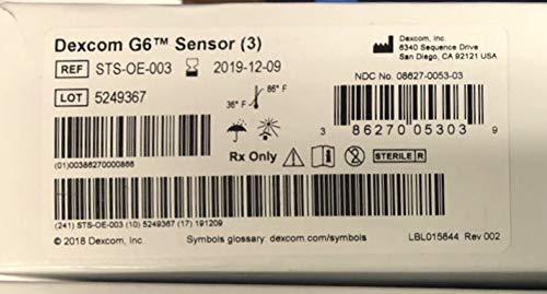 Dexcom G6 Sensor Kit - Import It All