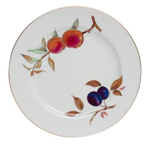 Royal Worcester Fine Porcelain - Royal Worcester Evesham Gold Porcelain Dinner Plate