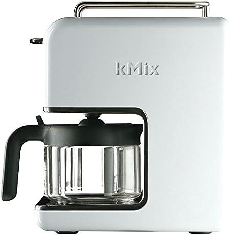 Kenwood CM 030 kMix - Cafetera de goteo con 6 tazas, 1200 W, acero inoxidable, color blanco: Amazon.es: Hogar