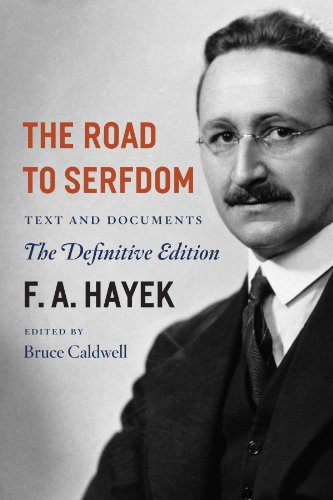 Book cover from The Road to Serfdom: Text and Documents--The Definitive Edition (The Collected Works of F. A. Hayek, Volume 2)by F. A. Hayek