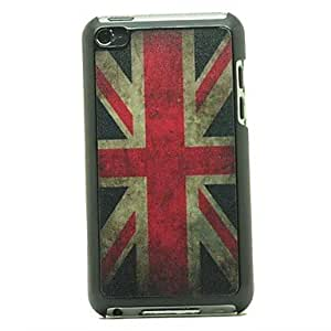 WQQ Retro UK Flag Pattern Hard Case for iPod touch 4