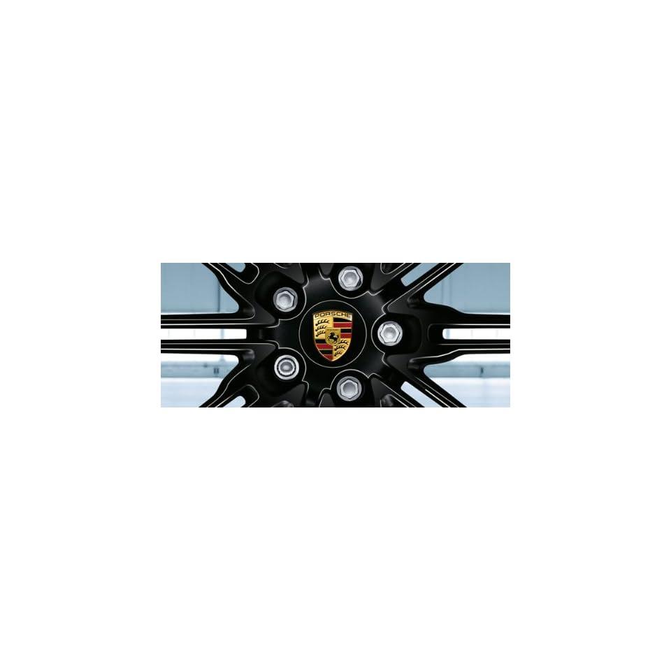 Genuine OEM Porsche Cayenne (E2) Wheel Cap Cover   Black   for the 21 inch Cayenne Sport Edition Wheel